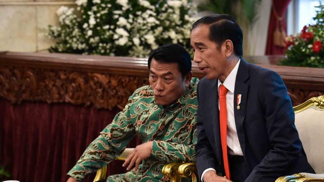 TItah Jokowi Dititip ke Moeldoko, Semua Menteri Wajib Baca!