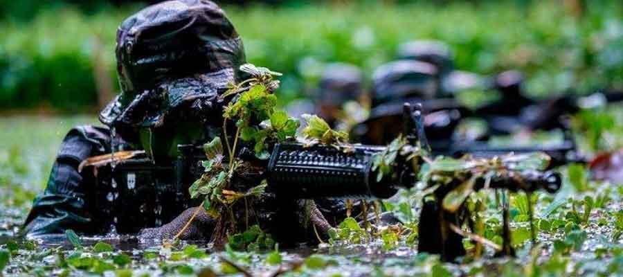 Ilustrasi pasukan setan TNI. Foto: military