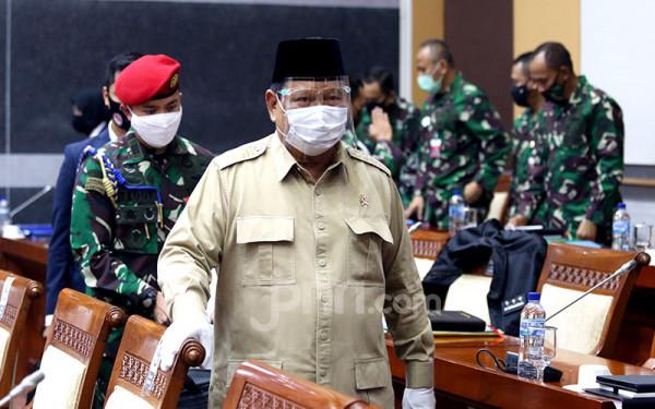Menhan Prabowo Subianto. Foto: Ricardo/JPNN.com