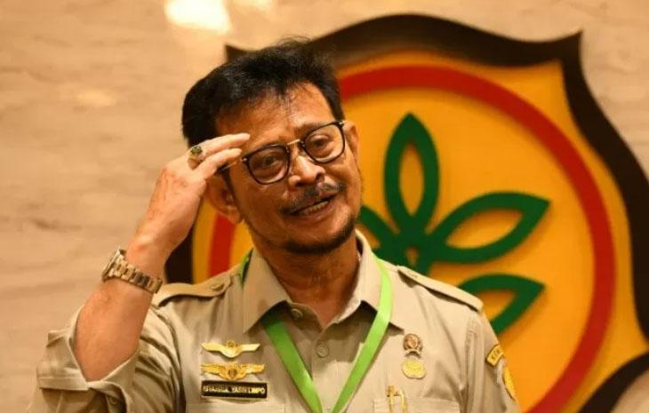 Menteri Pertanian Syahrul Yasin Limpo. ANTARA/HO-Kementerian Pertanian