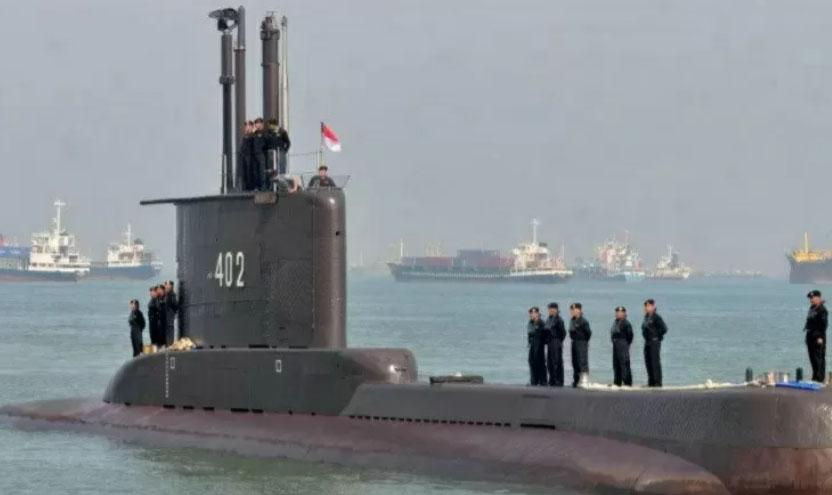 KRI Nanggala-402 dikabarkan hilang kontak di Perairan Bali (ANTARA/HO)