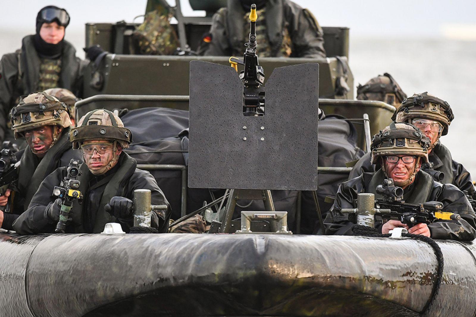 NATO kirim Pasukan Pencabut Nyawa, Rusia Kerahkan Pasukan Siluman