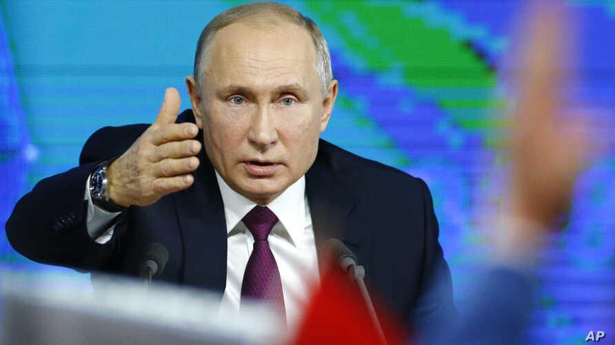 Presiden Rusia Vladimir Putin. Foto: AP