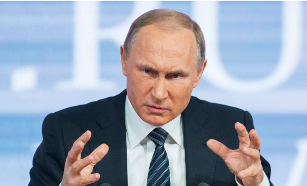 Presiden Rusia Vladimir Putin. (Associated Press/File)