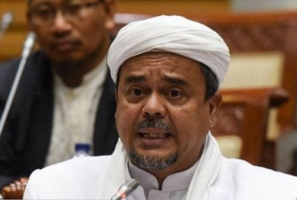Habib Rizieq Shihab. Foto: antaranews/tss