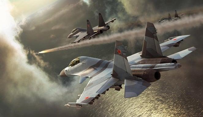 Militer Rusia Diserang Lewat Laut dan Udara, Kiamat Kian Dekat