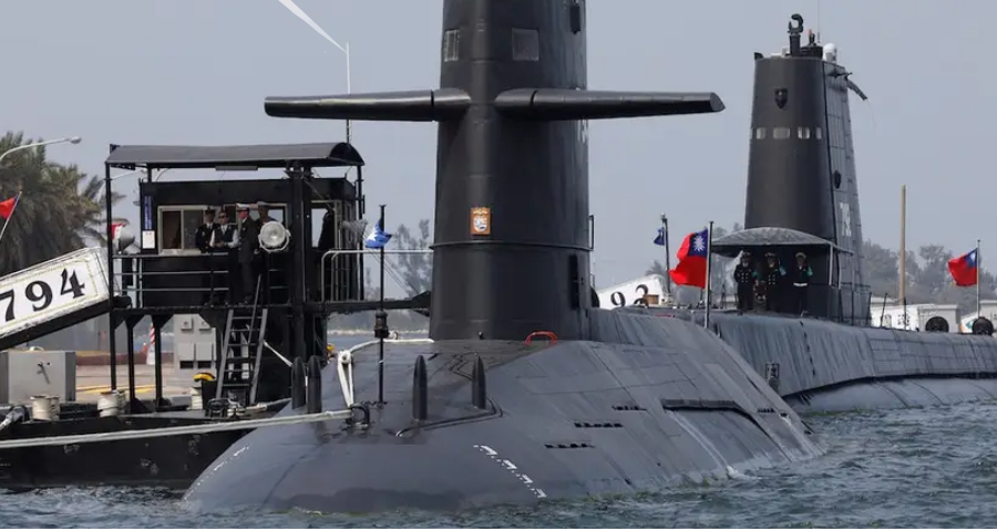 Ilustrasi kapal selam Taiwan. Foto: Reuters