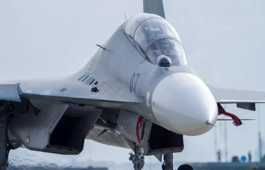 Salah satu pesawat tempur Taiwan yang menjadi bagian dari kekuatan yang dikerahkan menahan manuver China. (ANTARA/HO-ChinaMilitary/mii)