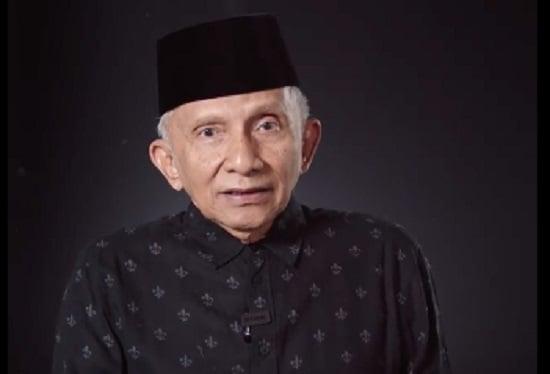 Amien Rais Kena Skakmat Eks Anak Buah SBY, Bikin Melongo (Foto: Instagram/amienrais)