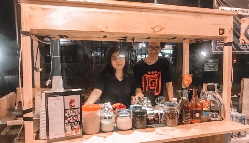 Pemilik kedai Samarasa, Hanan dan Annisa. (sumber : GenPI.co)