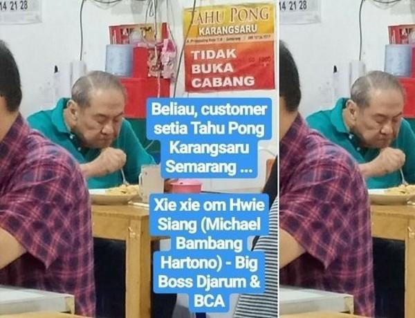 Bos BCA Tajir Melintir, Sosoknya Rendah Hati dan Merakyat