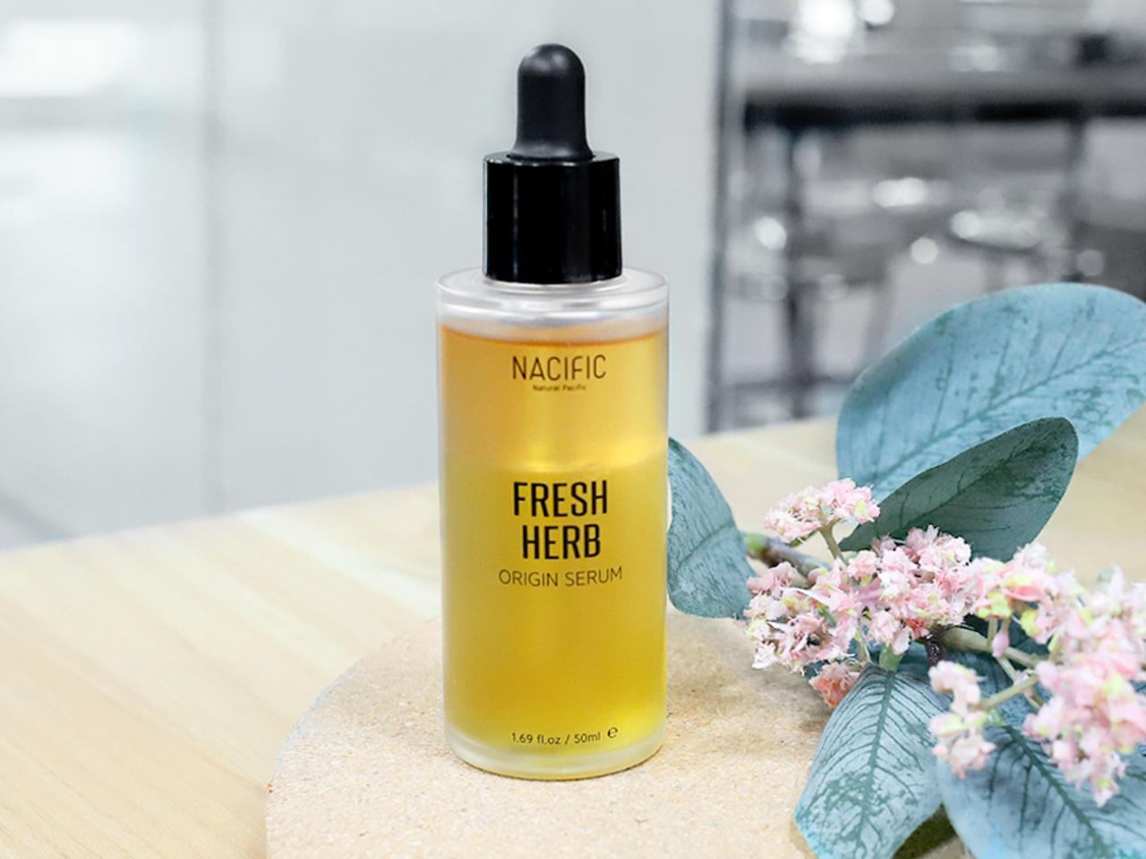 Nacific Fresh Herb Origin Serum Rahasia Wajah Cantik Memesona