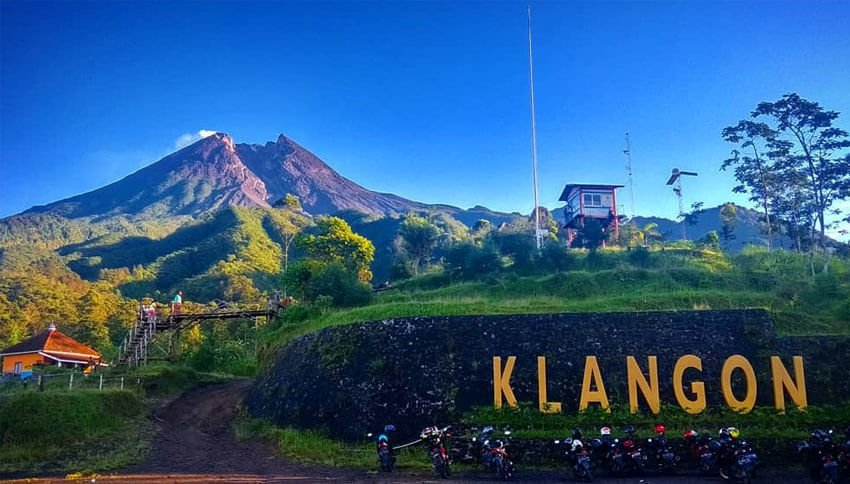 Bukit Klangon, Wisata Alam dan Perkemahan di Dekat Merapi. Foto: visitingjogja.com