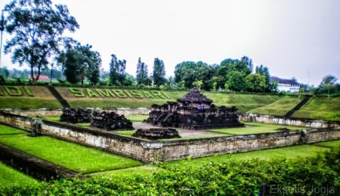 Candi Sambisari, Destinasi Indah yang Berada di Bawah Tanah. Foto: eksotisjogja.com