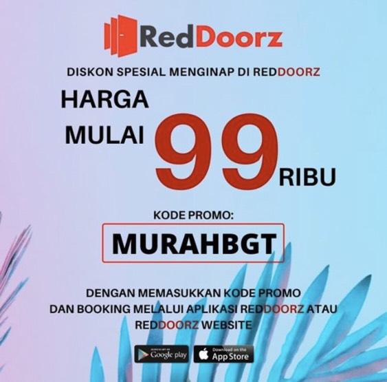 Menginap Lewat Aplikasi Red Doorz Bisa Dapat Harga Spesial