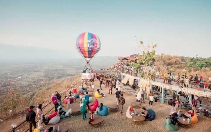 Heha Sky View, Wisata Kekinian Suguhkan Keindahan Gunung Merapi