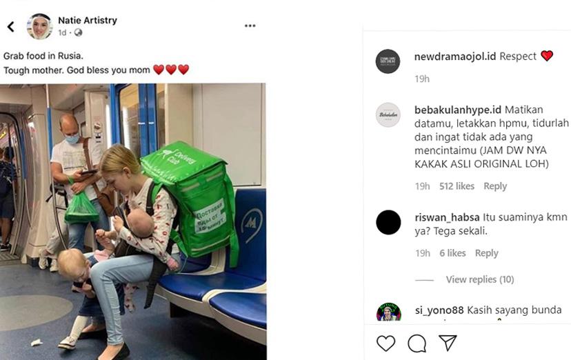 Instagram Heboh! Ada Bule Cantik Kerja Antar Makanan