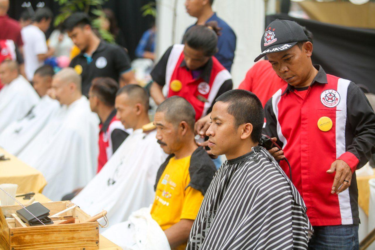 #BeraniGundul2020 Wujud Dukungan untuk Penderita Kanker pada Anak. Foto: Humas Pemkot Bandung
