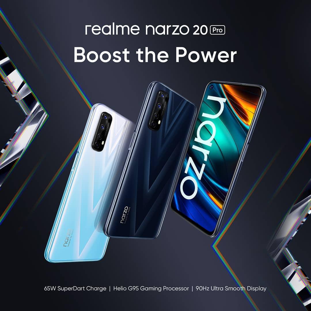 Realme Narzo 20 Pro. @realmeindonesia
