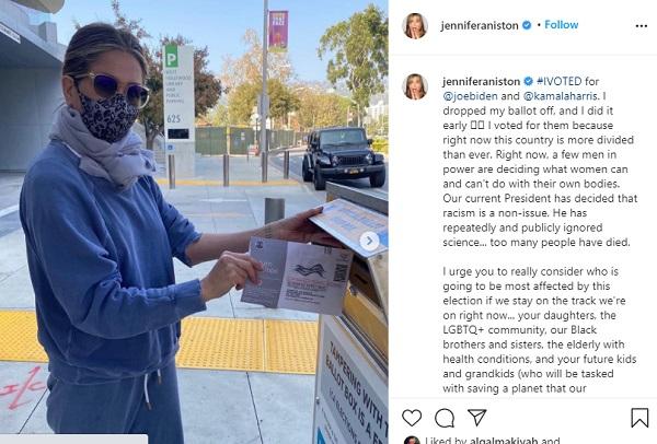Jennifer Aniston Tegur Kanye West Soal Niatnya Jadi Capres AS