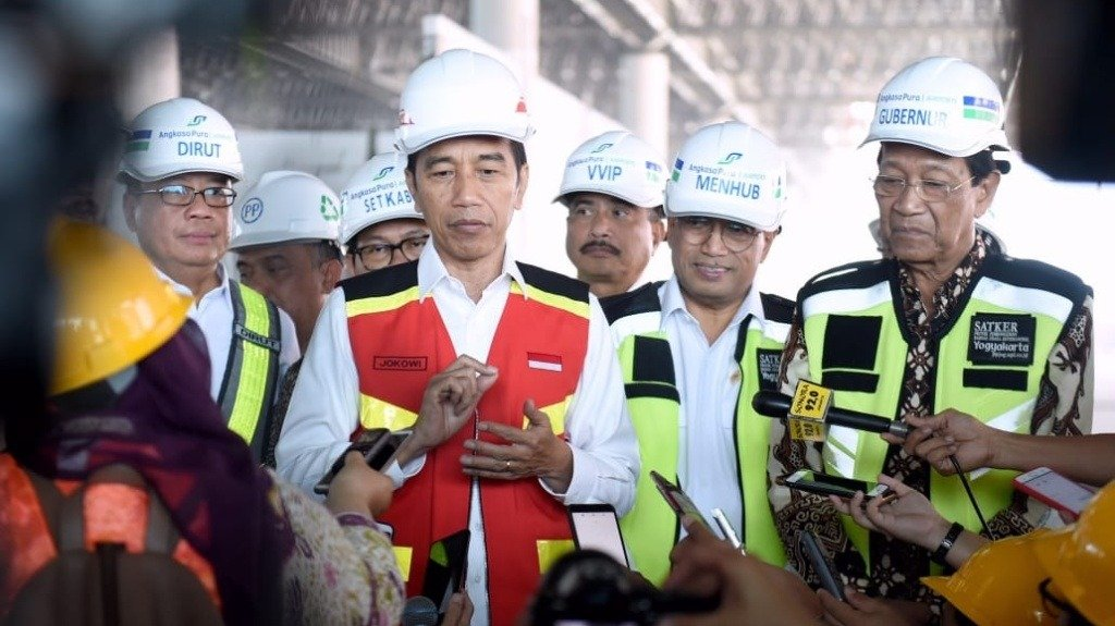 Kunjungan Presiden Jokowi ke Yogyakarta. Dia kagumi NYIA yang bisa tampung puluhan juta orang (Foto : Istimewa)
