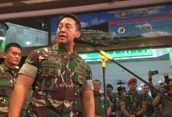 Pengakuan KSAD Jenderal Andika Bikin Kaget, Prajurit TNI Membelot (Foto: dok Antara)