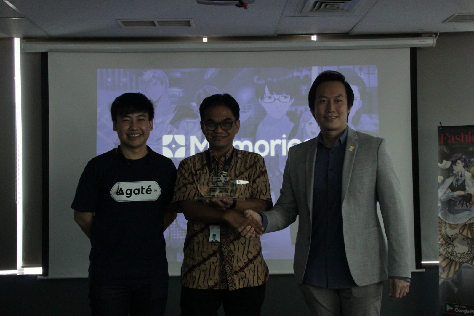 Kolaborasi Agate & CIAYO melalui platform Visual Novel. Foto: PR Agate