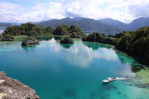 Sombori, Pulau Indah di Sulawesi yang Mirip Raja Ampat. Foto: Samudranesia