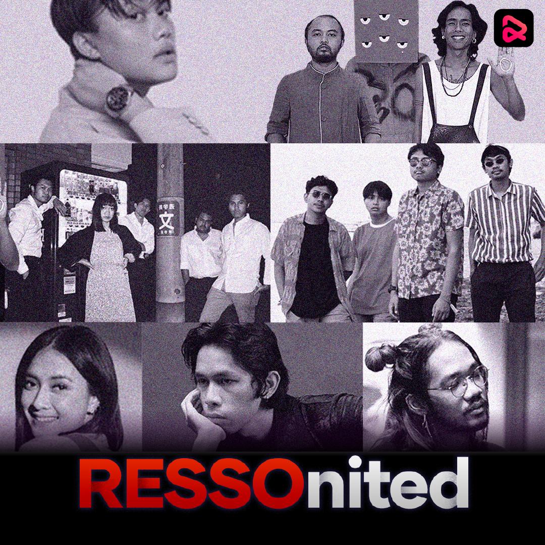 Para pengisi acara di konser #RESSOnited. Foto: Resso