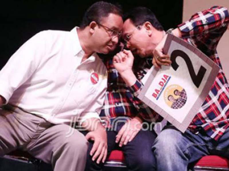 PSI Minta Anies Baswedan Tiru Keberanian Ahok Melawan DPRD
