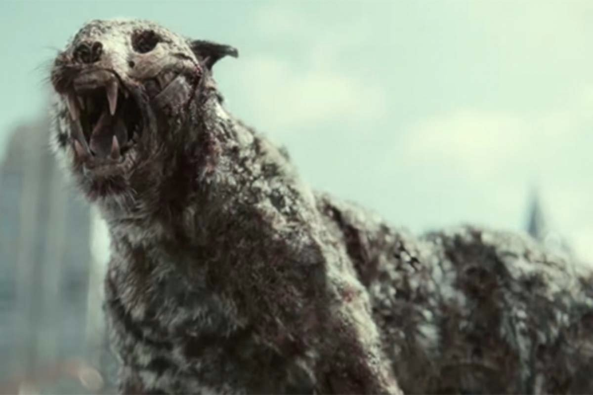 Zombie harimau dalam trailer film Army Of The Dead. Foto: YouTube/Netflix