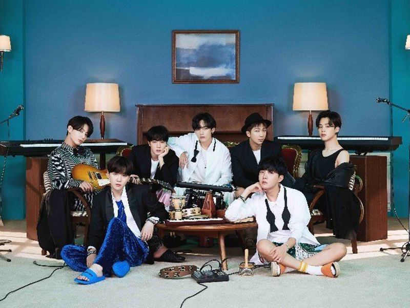 Grup idola K-Pop BTS. Foto: Antara