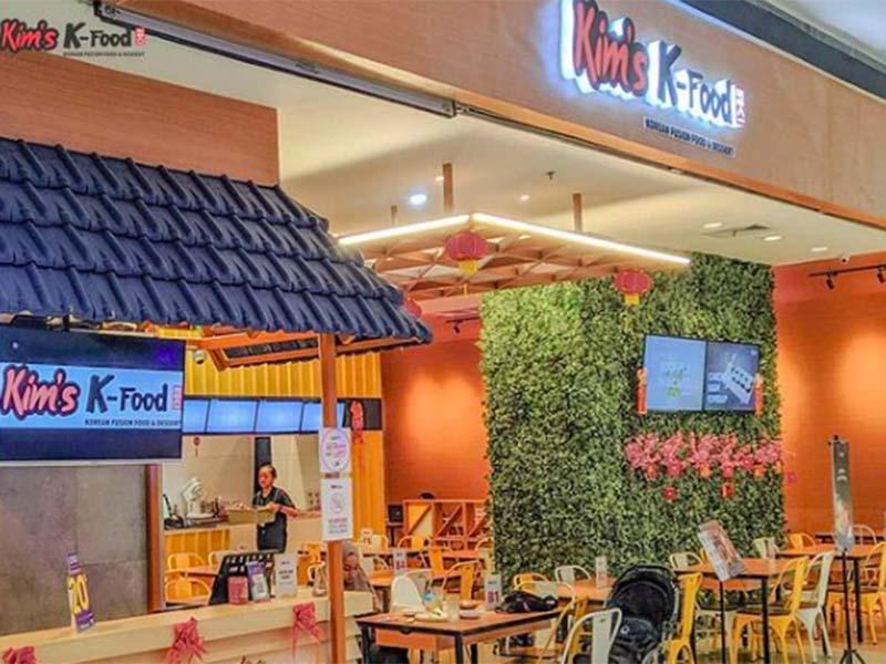 Bingsoo Story & Kim's K-Food, salah satu kafe ala Korea di Bandung. Foto: Instagram @kimskfood
