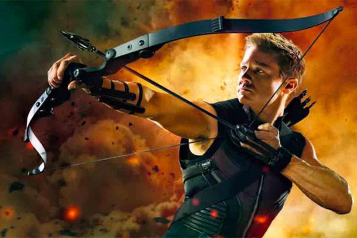 Jeremy Renner, pemeran karakter Hawkeye. Foto: IMDb