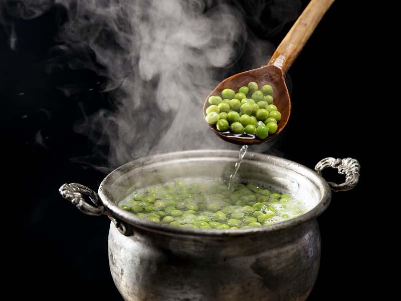 Ilustrasi kacang polong. foto: Unsplash