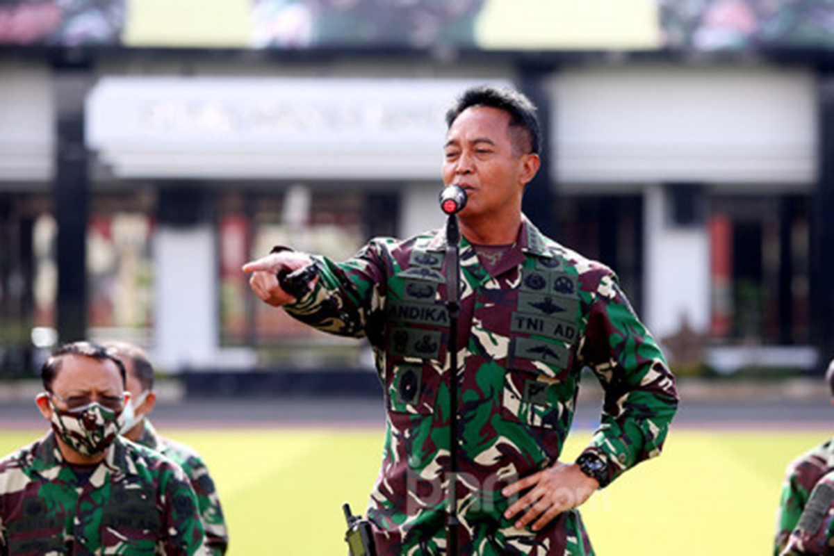 KASAD Jenderal TNI Andika Perkasa. Foto: Ricardo/JPNN.com/GenPI.co