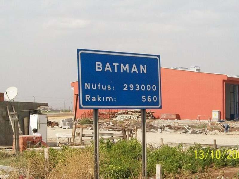 Kota Batman di Turki. Foto: Amusing Planet