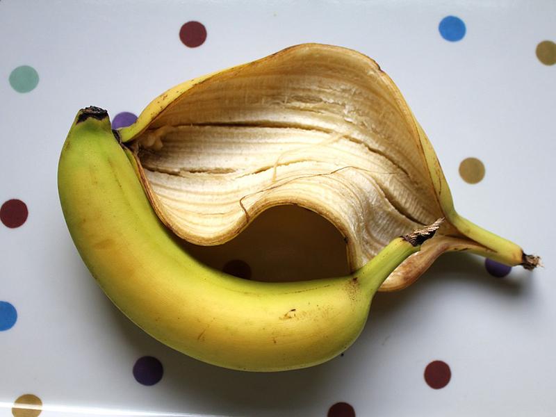 Kulit pisang berkhasiat untuk kecantikan. Foto: Pixabay