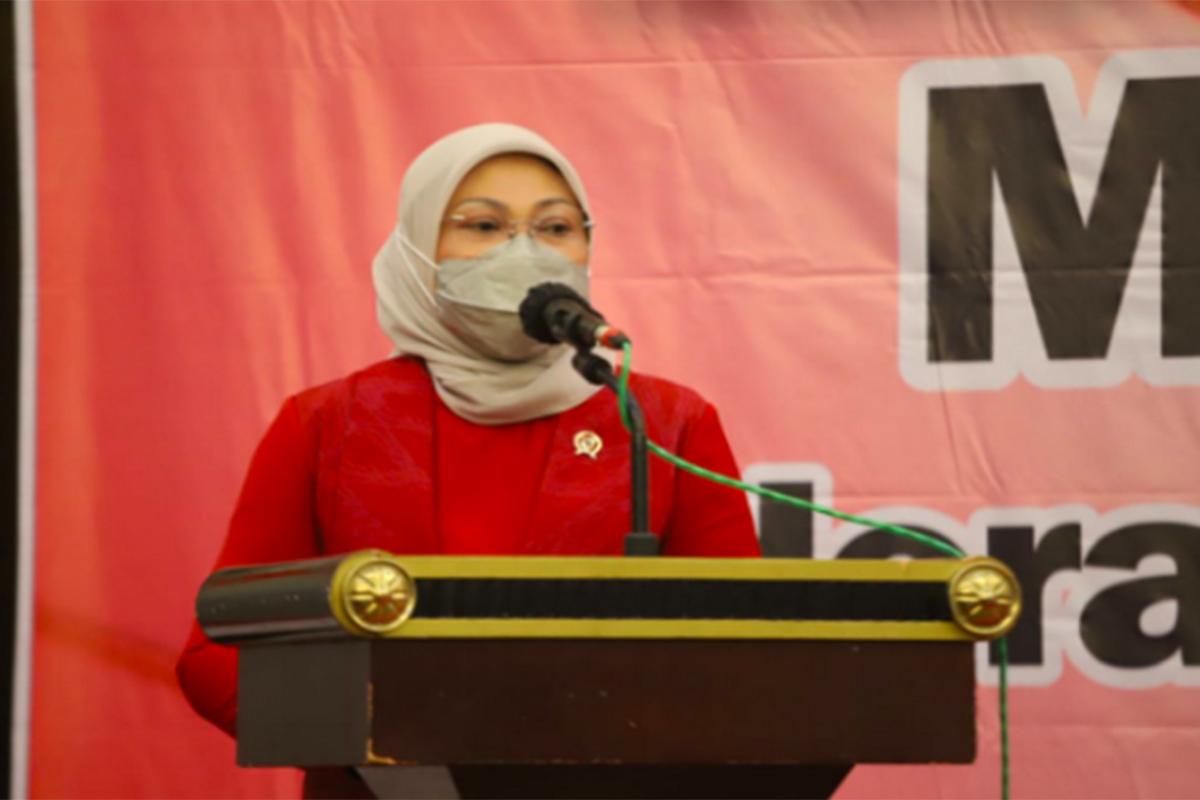 Menteri Ketenagakerjaan Ida Fauziyah. Foto: Humas Kemnaker