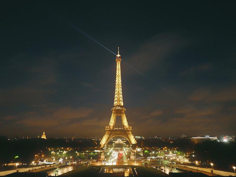 Menara Eiffel. Foto: Unsplash