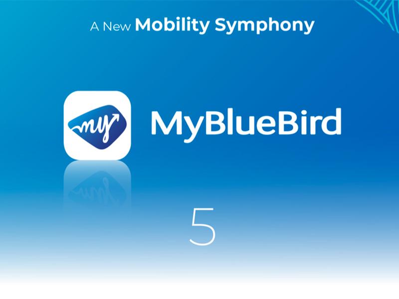 Aplikasi My BlueBird 5 Meluncur, Fitur Unggulannya Keren!