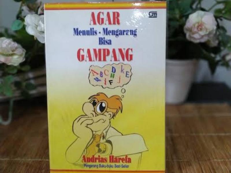 Buku Agar Menulis dan Mengarang Bisa Gampang karya Andrias Harefa. Foto: carousell.com