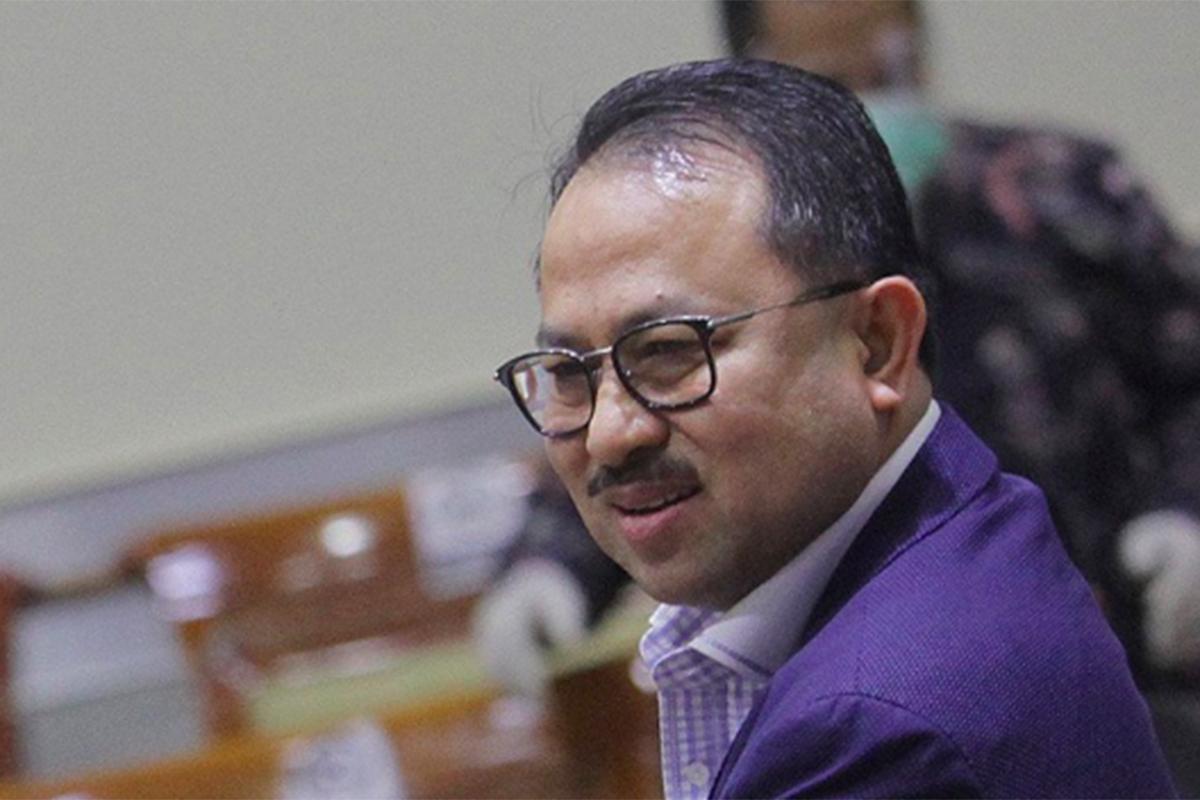 Wakil Ketua Komisi III, Pangeran Khairul Saleh Foto: Antara/Reno Esnir