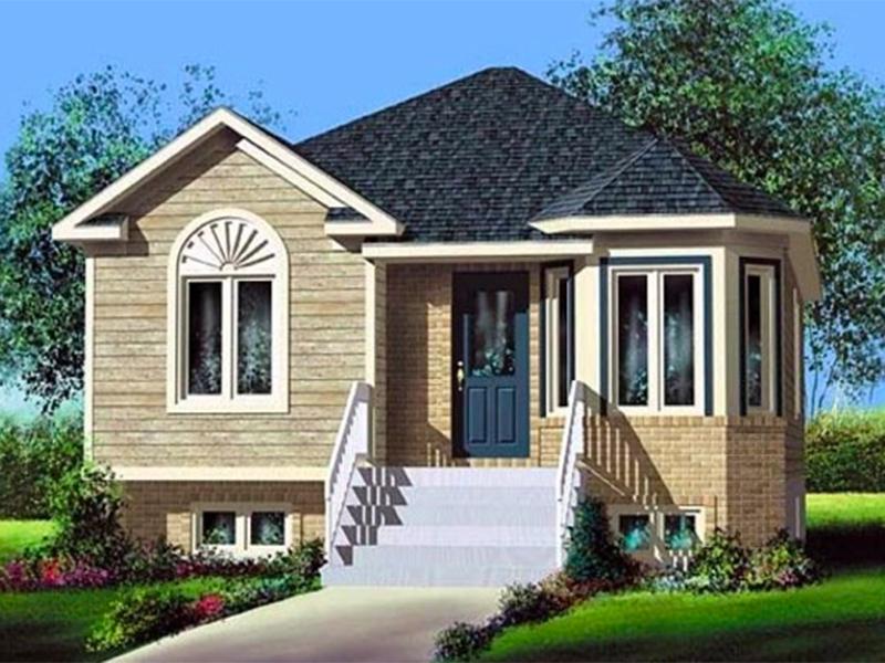 Ilustrasi desain rumah Eropa yang antibanjir. Foto: apkpure.com