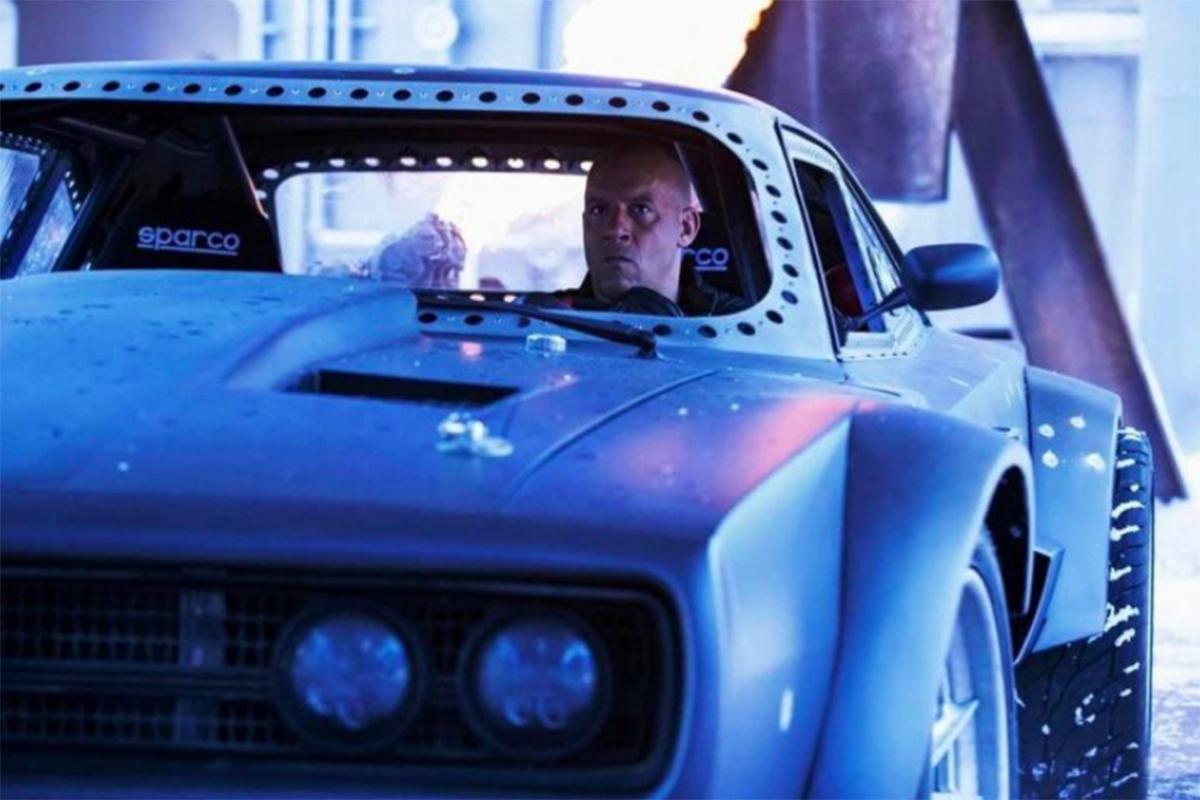 Vin Diesel sebagai Dominic Torreto dalam The Fate of the Furious (2017). Foto: IMDb/The Fate of the Furious