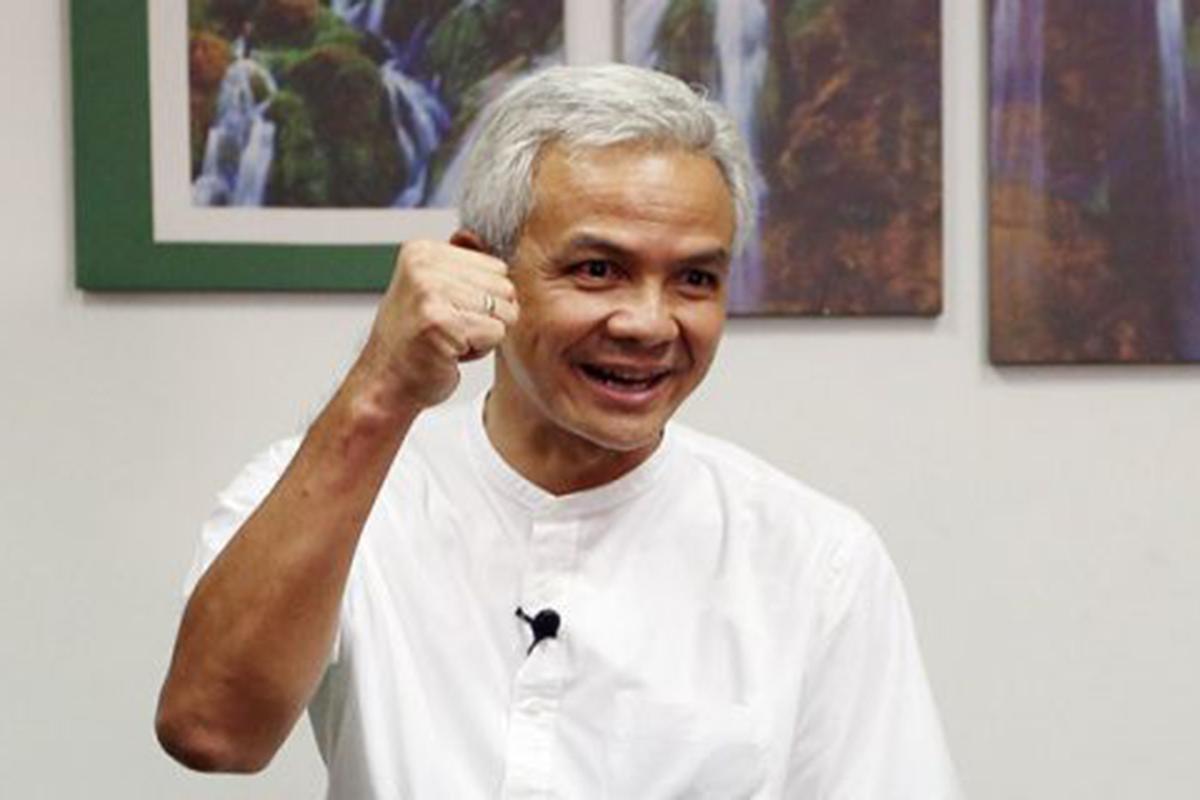 Gubernur Jawa Tengah Ganjar Pranowo. Foto: JPNN/GenPI.co