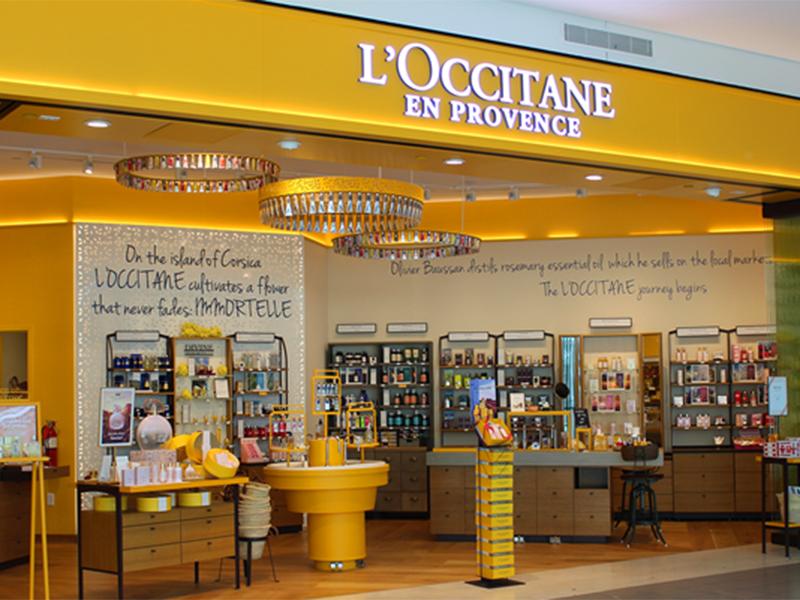 Gerai L'Occitane en Provence. Foto: globalretailnews.com