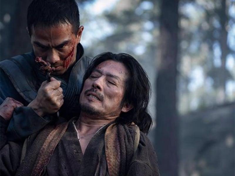 Aksi Joe Taslim dalam trailer Mortal Kombat. Foto: Instagram @joe_taslim