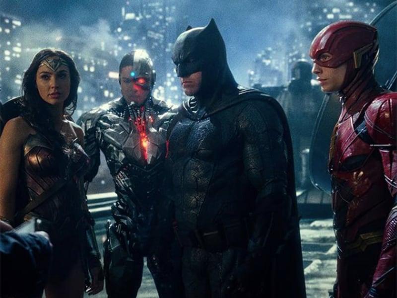 Beberapa karakter dalam film Justice League. Foto: Instagram @justiceleague