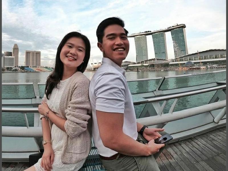 Kaesang Pangarep dan Felicia Chu. Foto: Instagram @feliciatissue